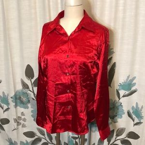 ❄️❄️Long sleeve red blouse❄️❄️